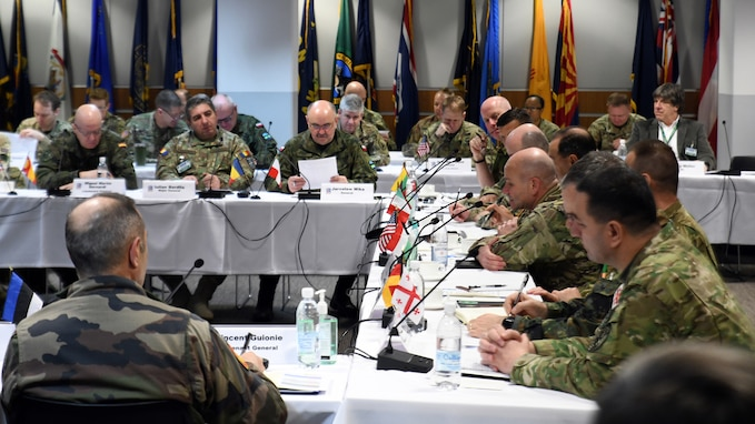 Multinational Land Force Commanders meet to discuss DEFENDER-Europe 20