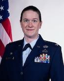 Official Air Force photo for Col. Sara A. Stigler
