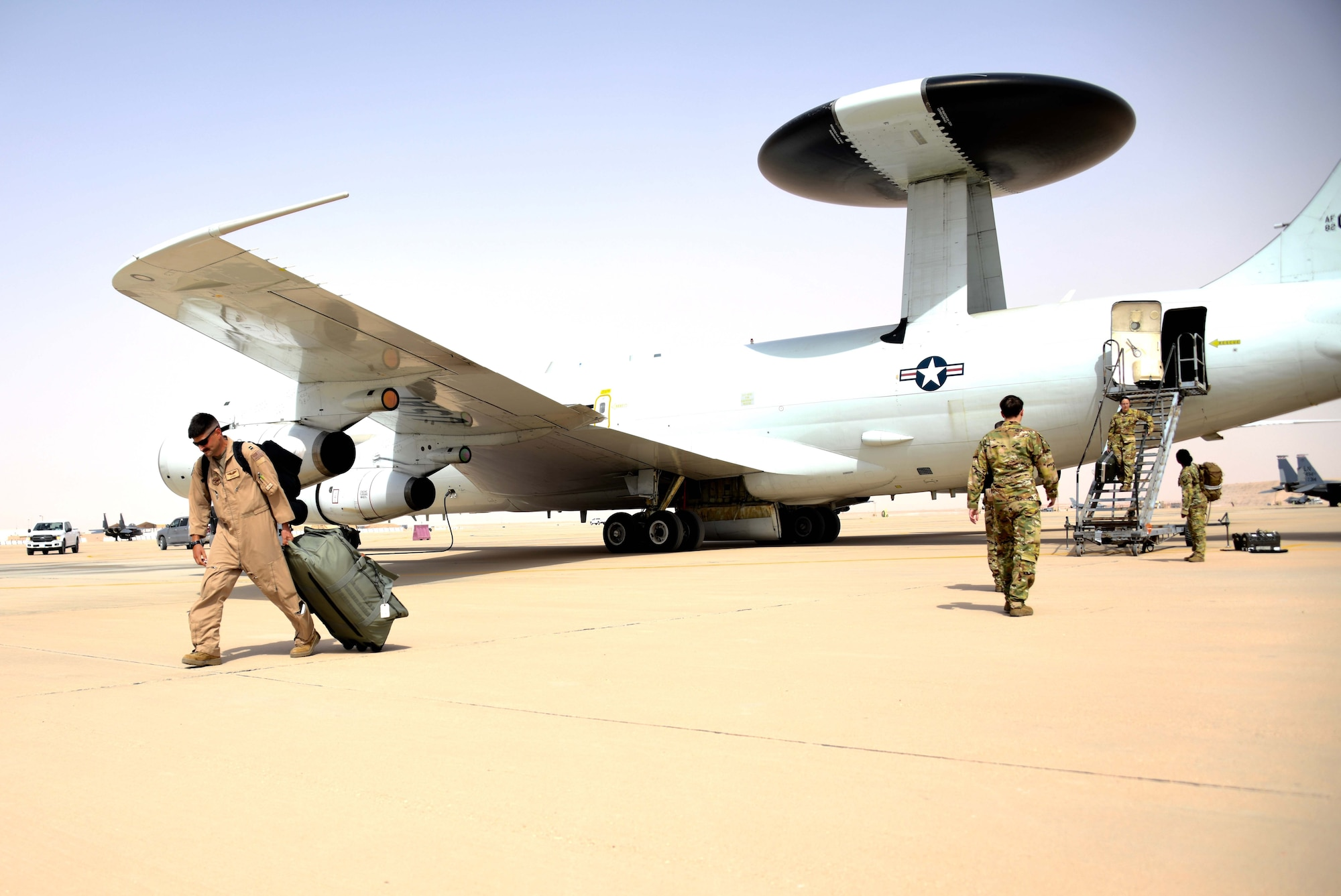 AWACS test rapid deployment capability at PSAB