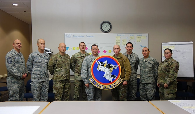 Each winter, the 14th Intelligence Squadron has an annual tradition of reviewing and updating goals for the calendar year. In 2019, the squadron added an entirely new goal: to execute one official continuous process improvement event. The intent was to identify an internal process that was within their purview and to evaluate and improve it, yielding CPI experience for squadron practitioners and an improved process for the squadron.