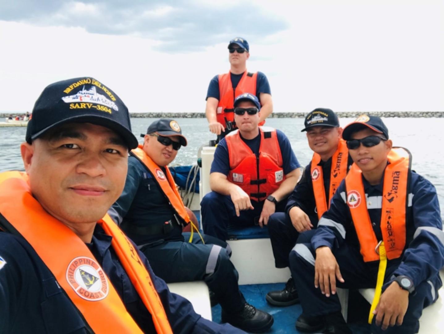 "U.S. Coast Guard Conducts ""Train the Trainer"" Course with Philippine Coast Guard"