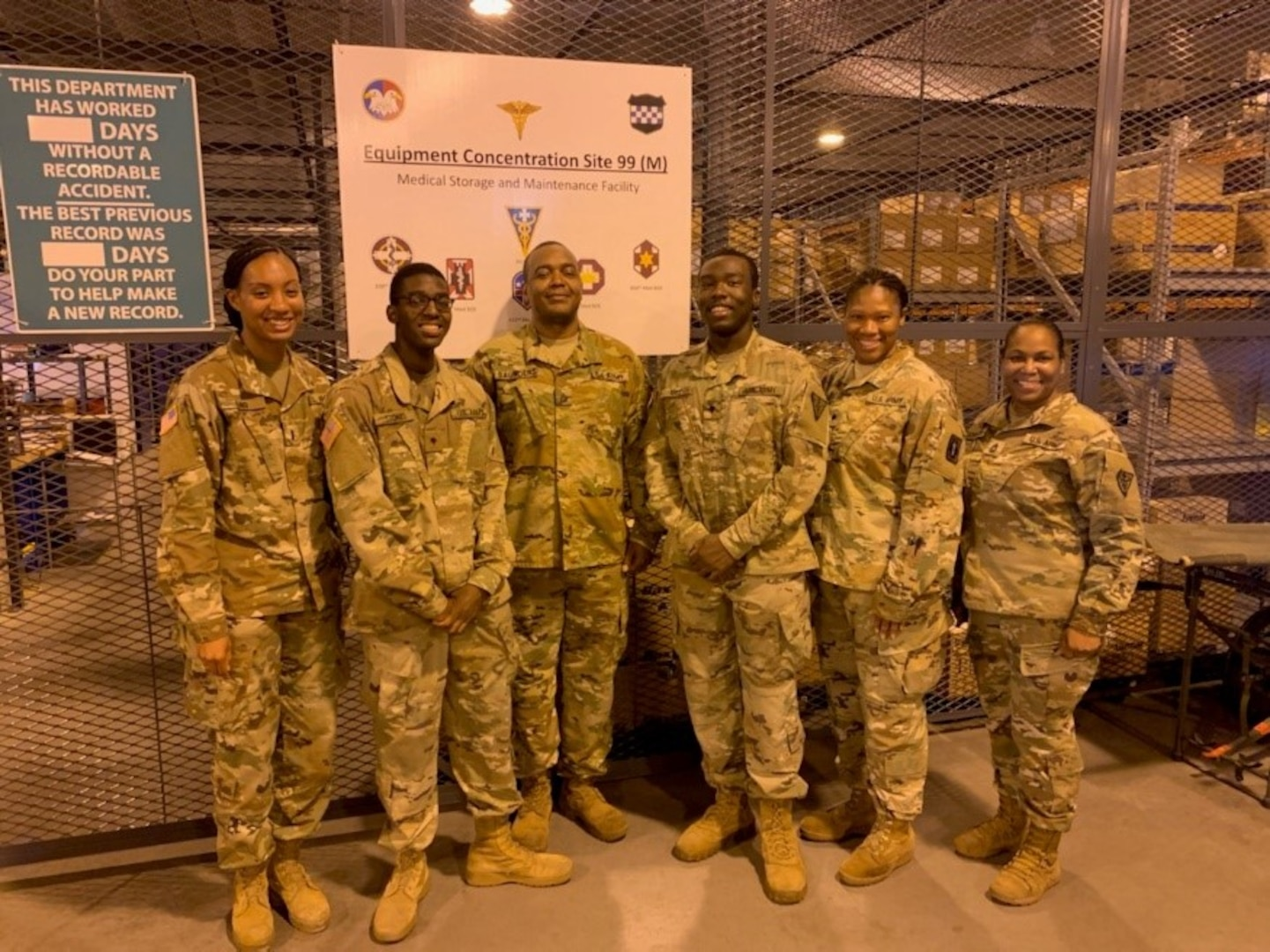 The MCS Team conducted Logistics MOS sustainment training directly contributing to the timely delivery of Class VIII to the IRT Program and prompt submission of required MEDLOG reports.