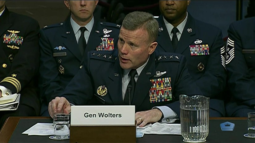 Gen  Tod  D.  Wolters,  USAF,  commander  of  US  European  Command and NATO's Supreme Allied Commander Europe testified at a Senate Armed Services Committee hearing on the defense authorization request for fiscal year 2021 and the  Future  Years  Defense  Program.