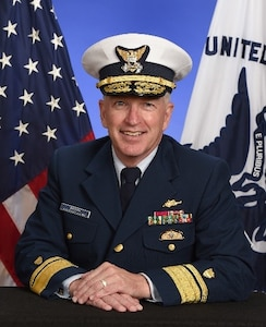 Photo of Rear Admiral Peter J. Brown