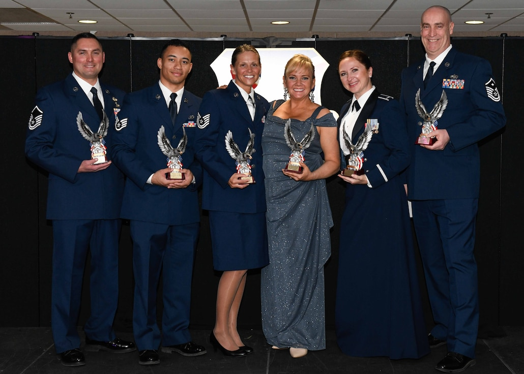 The Airman of the Year award program is designed to recognize Airmen who display superior leadership, job performance and personal achievement.