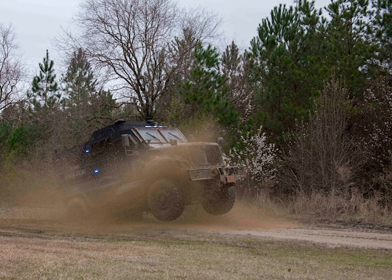 4th SFS Provides Goldsboro Police Department with MRAP Training, Build Relationship