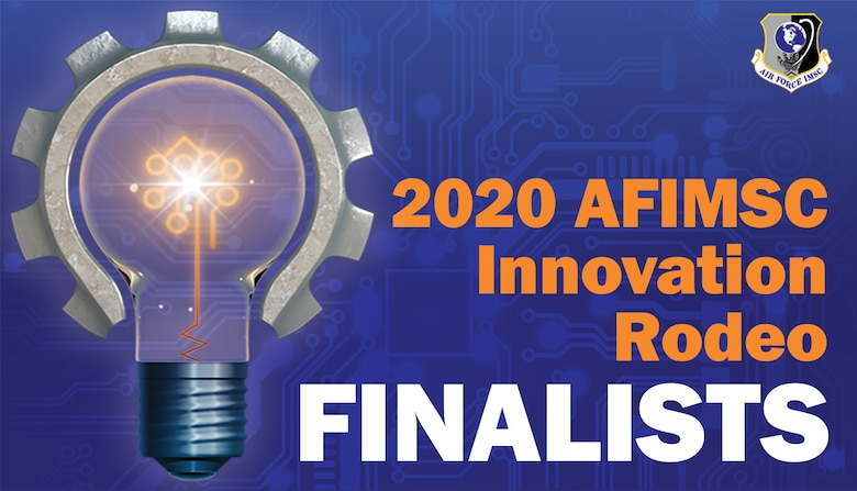 2020 AFIMSC Innovation Rodeo finalists presented their technology at Joint Base San Antonio-Lackland