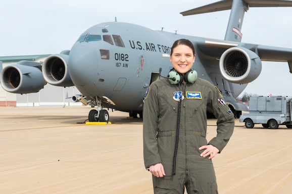 Senior Airman Abigail Michael is a C-17 loadmaster for the 167th Airlift Squadron and the 167th Airlift Wing Airman Spotlight for March 2020.