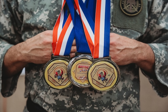 U.S. Army Reserve Soldier competes in Arnold Martial Arts Festival
