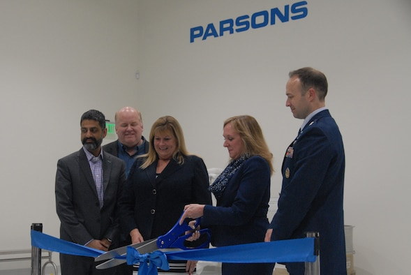 Parsons Ribbon Cutting