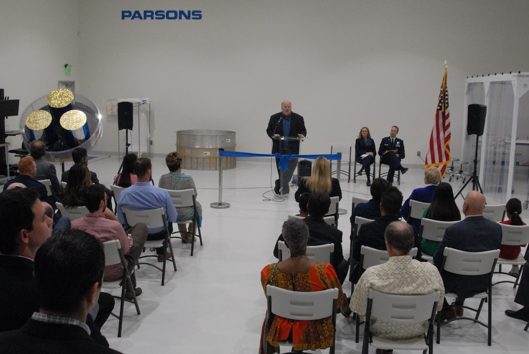 Parsons Ribbon Cutting