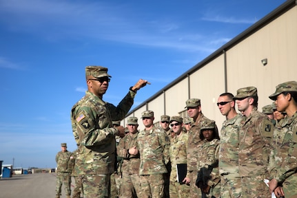 Maj. Gen. Roper with 11th ECAB and 244th ECAB Soldiers