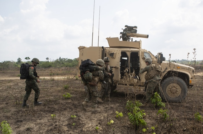 US, Royal Thai Marine Corps Breach, Clear Obstacles Showcasing Combined Arms Firepower during Final Exercise