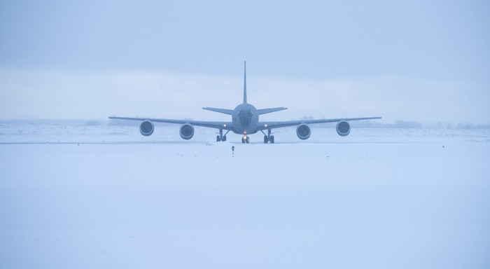 USAF Stratotankers Provide Air Refueling Capabilities for Exercise Cold Response 20