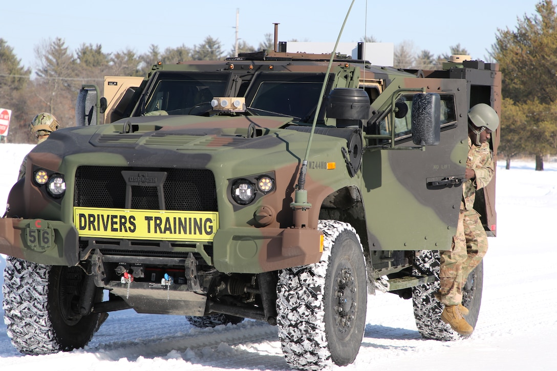 Twenty Soldiers in all Army components and multiple military occupational specialties took advantage of the latest Joint Light Tactical Vehicle Operator New Equipment Training Course at the JLTV Training Center in Fort McCoy, Wis., Feb. 17-21, 2020. The 94th Training Division – Force Sustainment leads the JLTV driver's training courses for all Army components.
