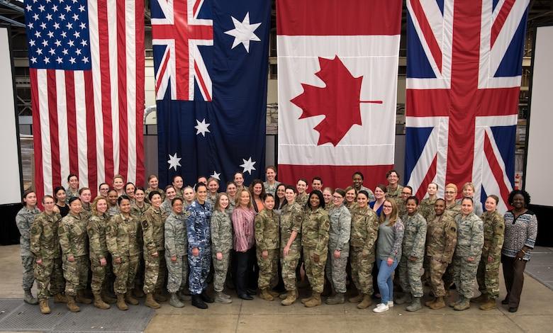 Group photo of CSpOC women