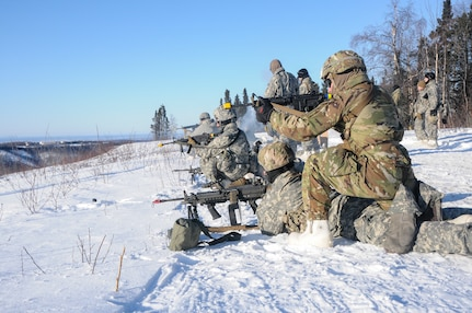 Alaska Guardsmen Gain Lethality with Arctic Survival, New M17 Pistol Training in the Arctic