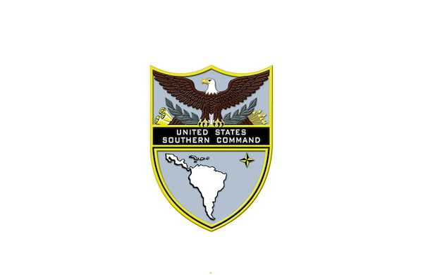 Official shield of U.S. Southern Command.