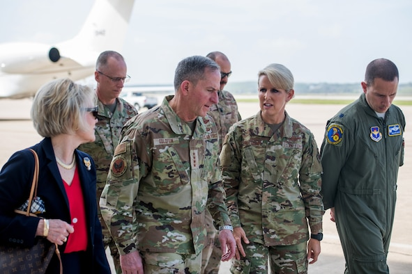 Chief of Staff of the Air Force visit