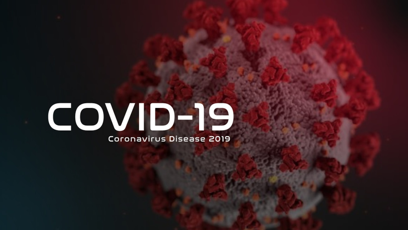 COVID19 Graphic which links to AF virus's site