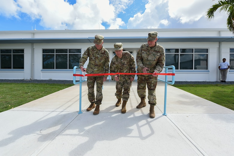 156th Wing unveils newly renovated medical group and dining facility