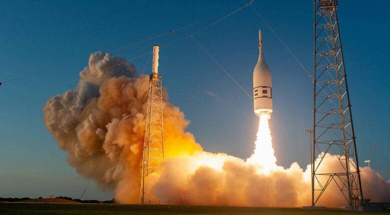 Ascent Abort-2 Liftoff