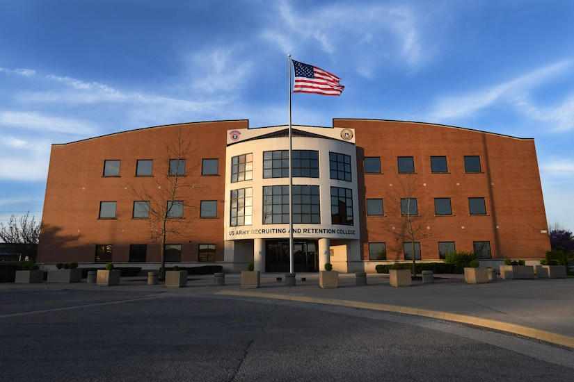 photo of the Recruiting and Retention College building.