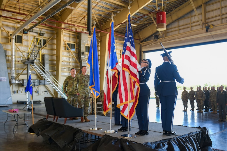 Lt. Col. Joelee Sessions assumes command of the 156th Contingency Response Group