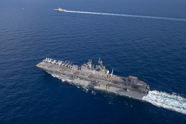 USS America, Gabrielle Giffords, Integrate Operations