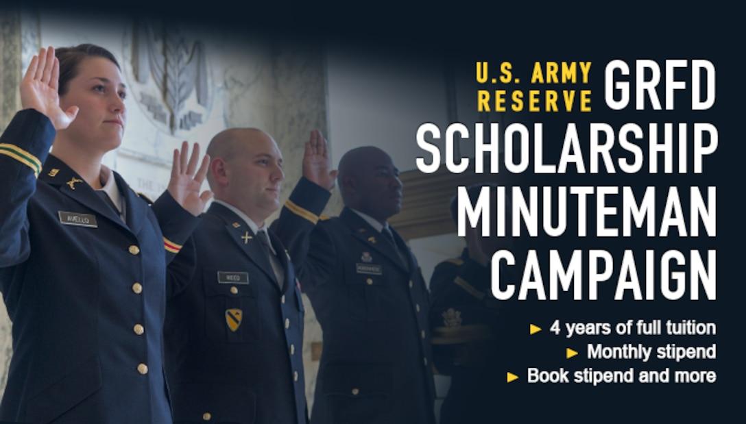 GRFD Scholarship Minuteman Campaign