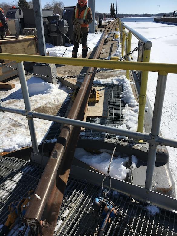 Tow rail installation