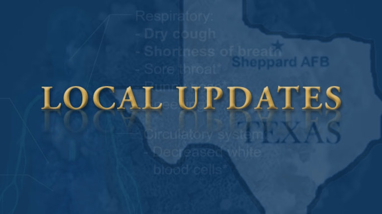Sheppard AFB Local Update