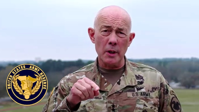 Lt. Gen Charles D. Luckey, chief of Army Reserve and commanding general, U.S. Army Reserve Command, gives guidance to unit commanders and Soldiers in response to the COVID-19 pandemic. Specifically, he addresses the suspension of battle assembly training, the stop of military travel, and precautions to take to defend personal and public health.
