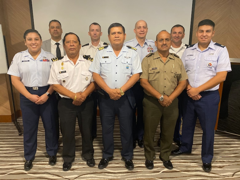 The Inter-American Air Force's Academy hosted this second-ever Officer and Noncommissioned Officer Professional Development Seminar and Subject Matter Expert Exchange with members of the Peruvian Army, Air Force, and Navy, in Lima, Peru, March 9-12.  The goal for this PME seminar was to create an opportunity to increase collaboration, share experiences and lessons learned and showcase the importance of leadership training for officers and enlisted military members at all levels to enhance interoperability and mission success.