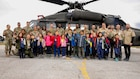 Kosovo Cub Scout pack 2008 explores Camp Bondsteel