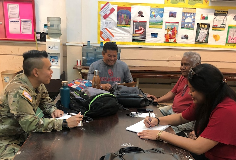 Pacific Pride Soldiers make plans to promote preventive health in Palau