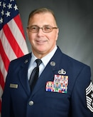 Official photo of Chief Master Sergeant Robert S. Safley