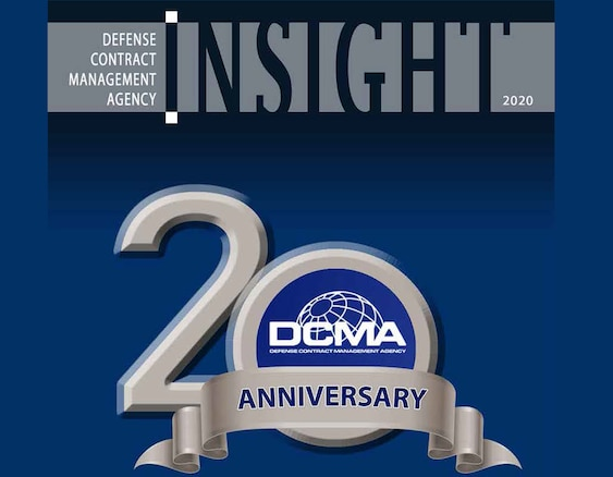 Graphic of DCMA Insight Magazine 2020