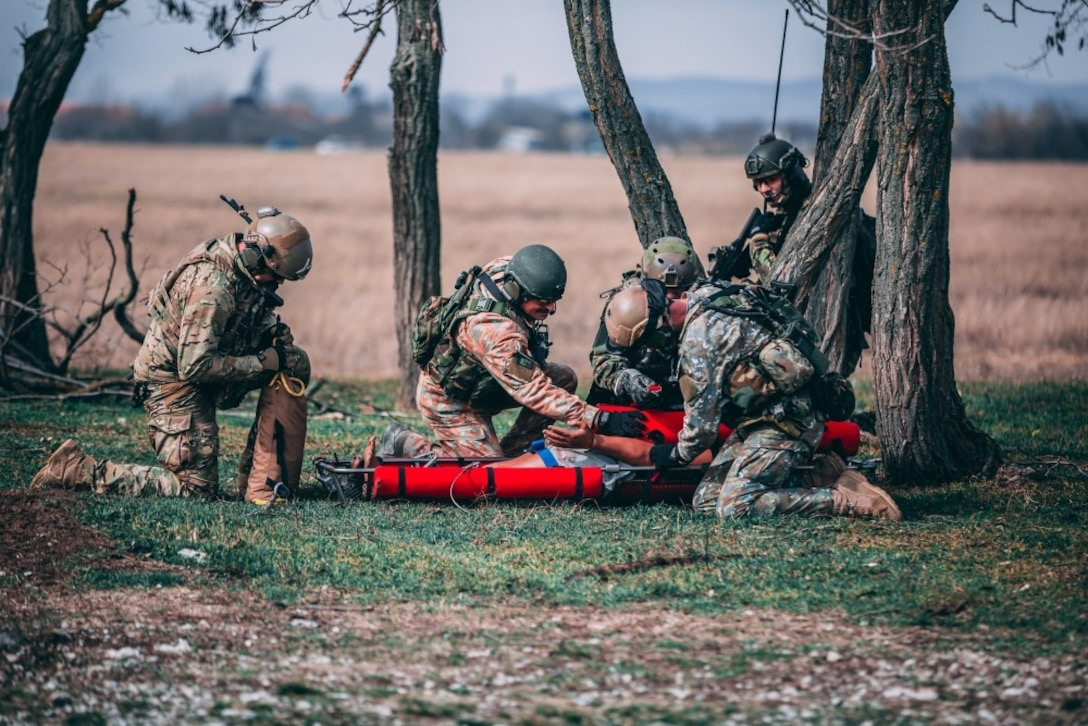 The exercise marked the start of the SOALI training between ROU and the U.S. for this upcoming year, although it's one of many routine engagements where the ROU SOF has trained alongside U.S. SOF. (Courtesy photo)