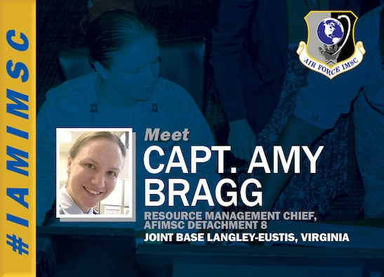 #IAMIMSC graphic featuring Capt. Amy Bragg