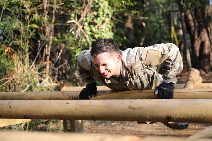 Camp Zama's new obstacle course provides Soldiers alternate PT option