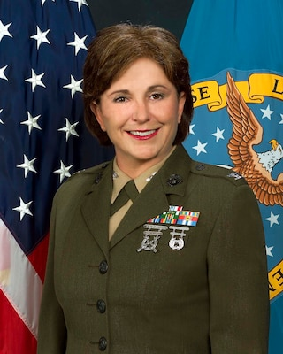 Marine Col. Laura Sampsel becomes the first women to lead the Defense Logistics Information Service (now known as Logistics Information Services).