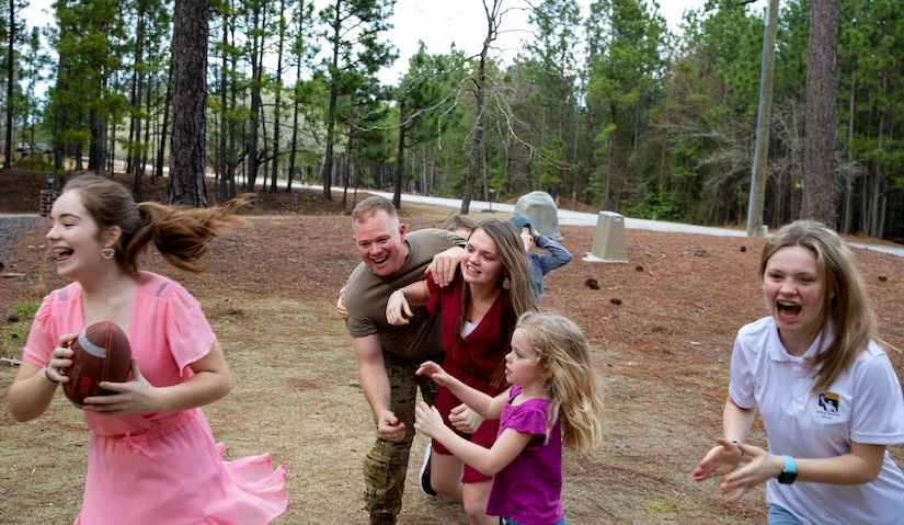 Army Reserve family's love exceeds boundaries