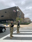 D.C. National Guard soldiers support D.C. Metropolitan Police