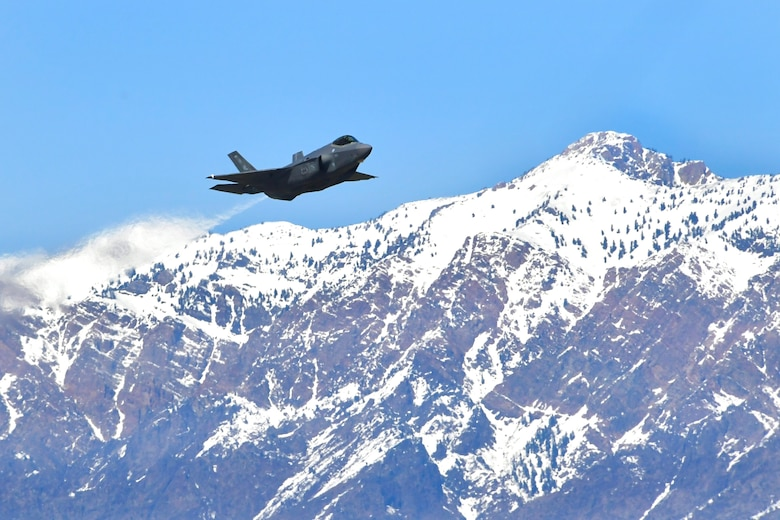 A photo of an F-35A Lightning II