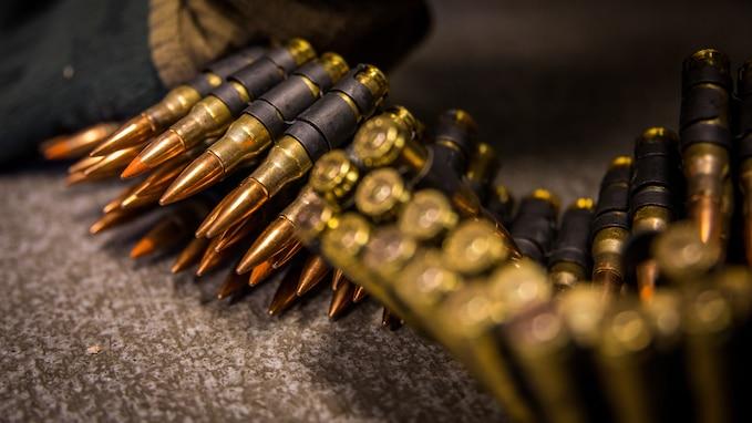 SPMAGTF-AE: Marines conduct machine gun range in Alaska