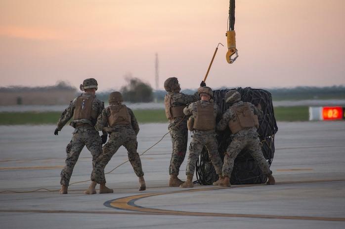 U.S. Marines Train In Spain