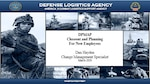 DPMAP Closeout and Planning For New Employees Cover Sheet for presentation given virtually on March 18, 2020 by DLA Land and Maritime People and Culture presenters Dan Hayden and Liza Tom.