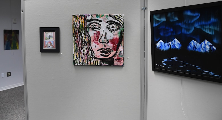 The Beyond Duty Art Exhibit in Bossier City, La. showcases all-military (veteran and active duty) artists.