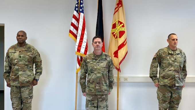U.S. Army Garrison Ansbach welcomes Command Sgt. Maj. Bohannon